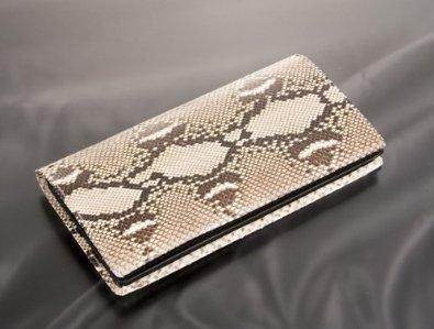 パイソン(蛇革)財布