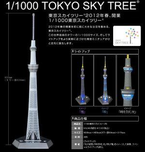 東京スカイツリー模型