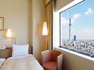 窓から東京スカイツリーが見えるホテル